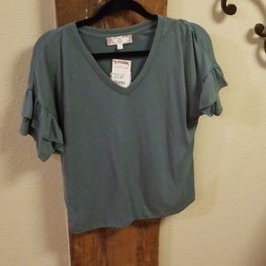 Tops - Pink Rose Top NWT